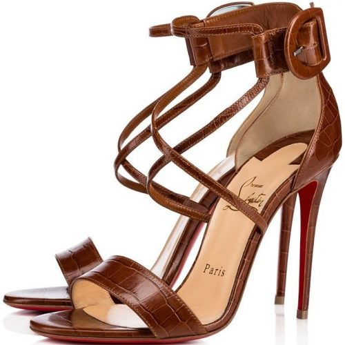 buy online 31409 a38a1 Christian Louboutin Strappy Archives - Charismatic Ladies